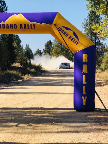 inflatable arch for running events