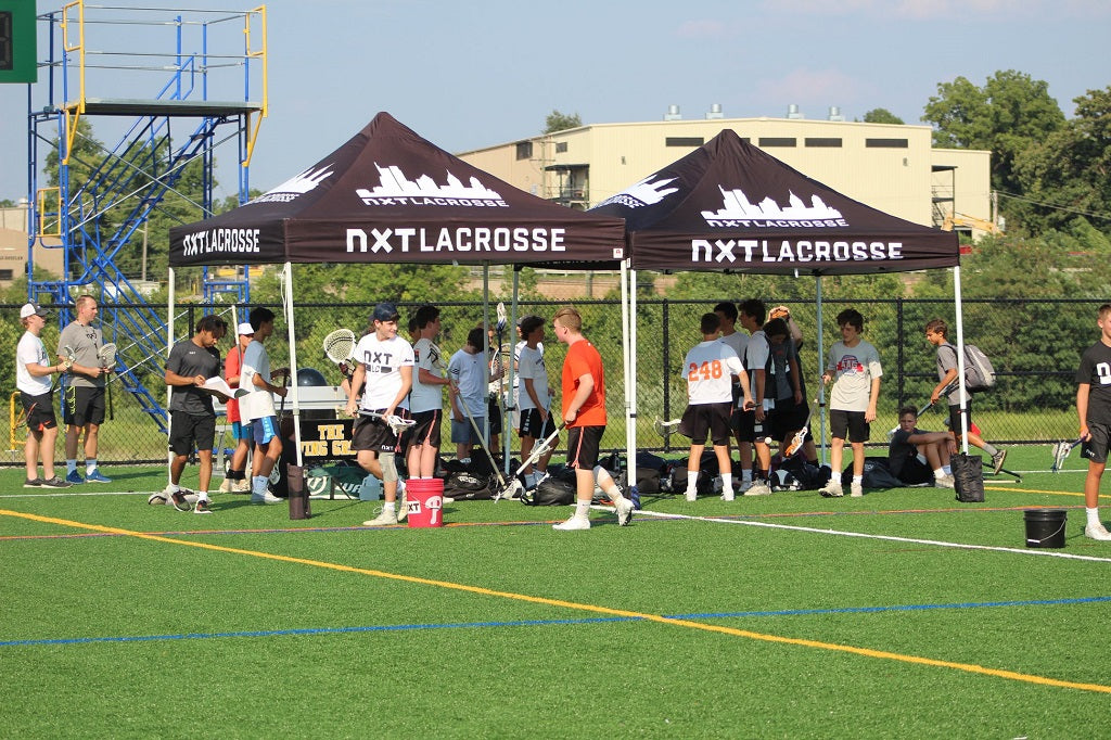 MVP Visuals Custom Lacrosse Tents