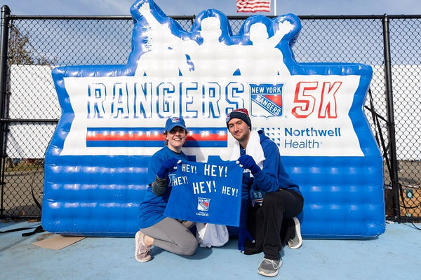 MVP Visuals Rangers 5K Custom Shape Inflatable