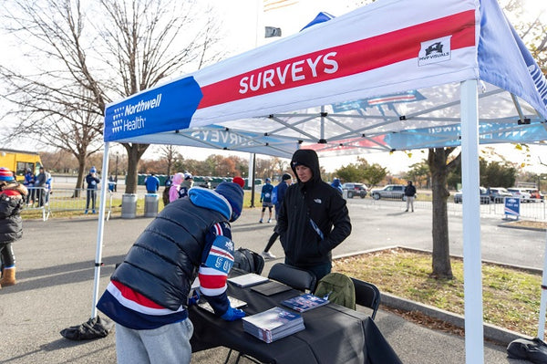 MVP Visuals Rangers 5K Custom Pop Up Tent