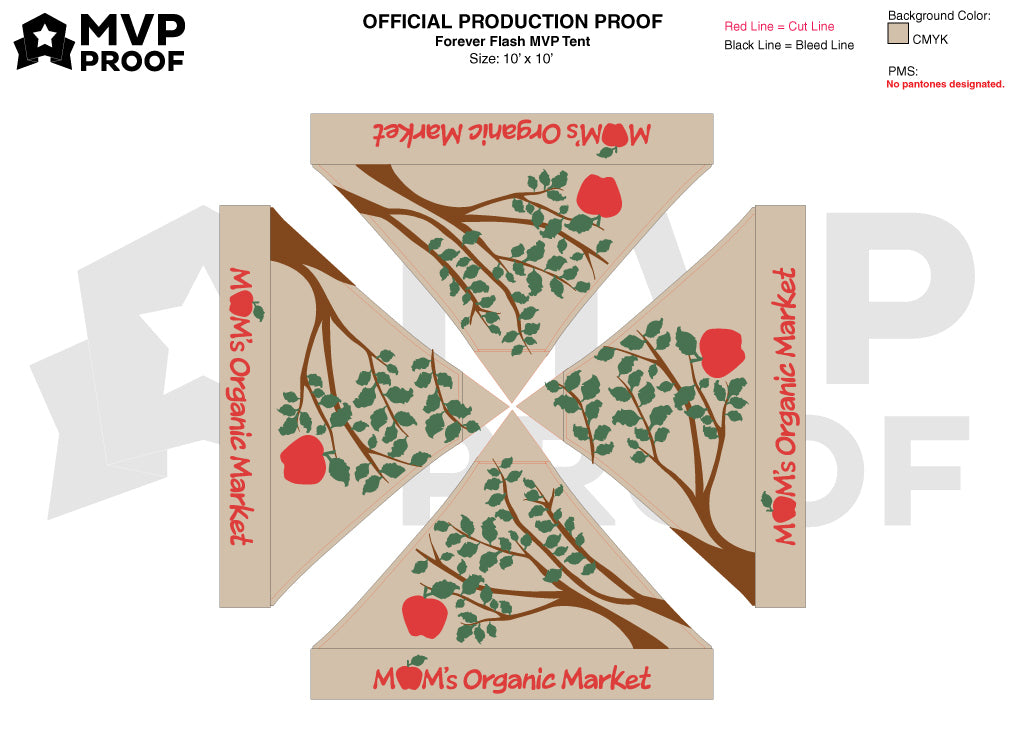 MVP Visuals Custom Tent Design