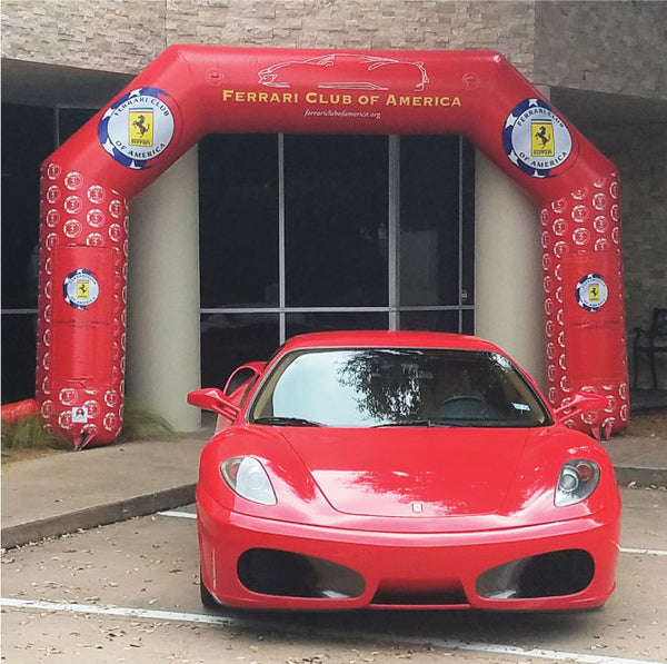 MVP Visuals Ferrari Custom Inflatable Arch