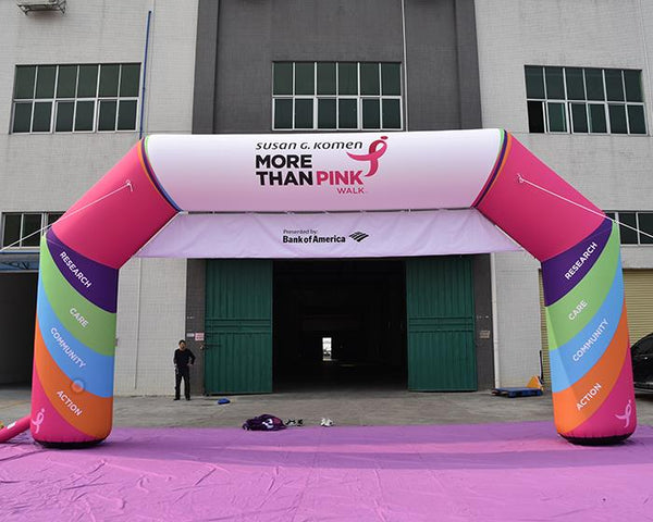 Inflatable Arch with Banner
