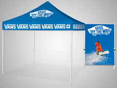Custom Tent Freestanding Wall