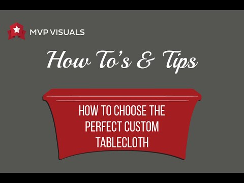 custom tablecloths trade show table covers mvp visuals