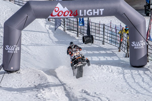 Coors Light Inflatable Arch