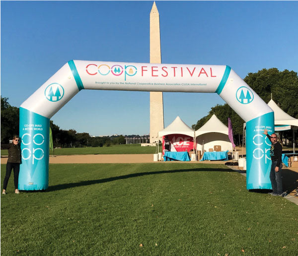 MVP Visuals Custom Inflatable Arch