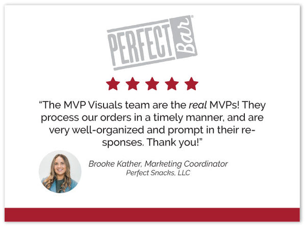 MVP Visuals 5 Star Customer Rating