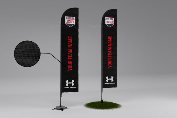 MVP Visuals Flying Flag Under Armour