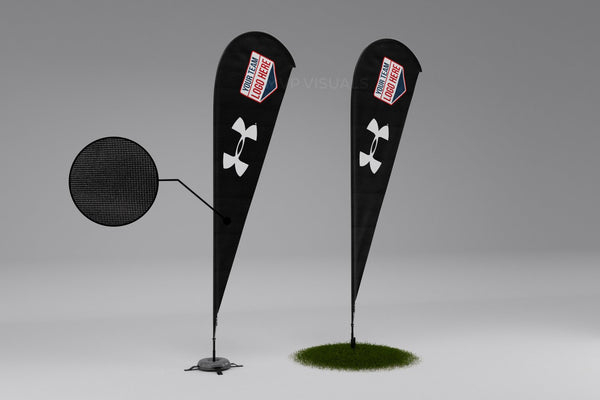 MVP Visuals Teardrop Flag Under Armour
