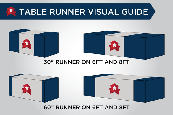 MVP Visuals Table Runner Size Guide