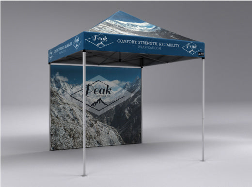 Custom Pop Up Tent Walls