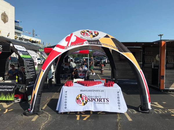 Innovative Custom-Made Tents for Sporting Events