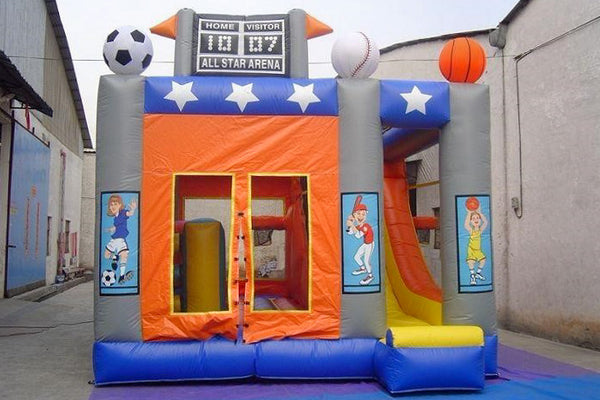 MVP Visuals Custom Inflatable Bounce Houses