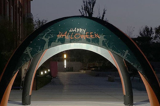 Custom Printed Illuminated Tents