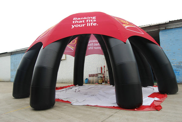 custom shape gaint inflatable tents