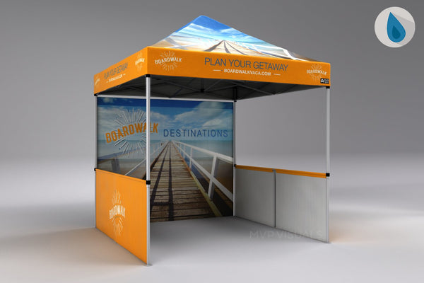 MVP Visuals Flash Custom Tent with Logo
