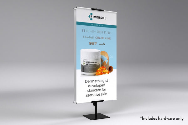 MVP Visuals Classic Banner Stand