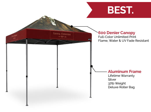 COVID Signage - Custom Pop Up Tents