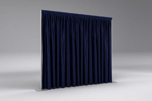 Non Printed Flame Retardant  - Black Out Performance Velour Drapes