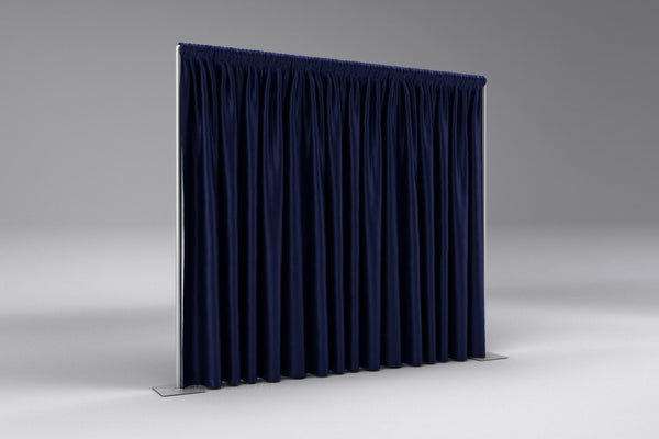 MVP Visuals Blackout Fabric Drapes