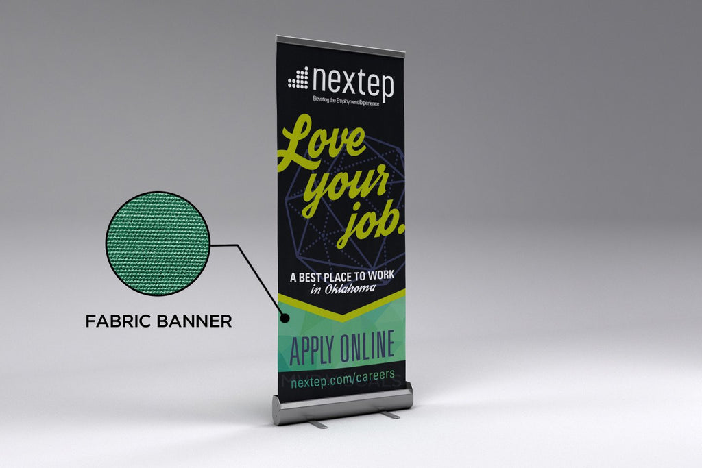 mvp visuals fabric roll up banner