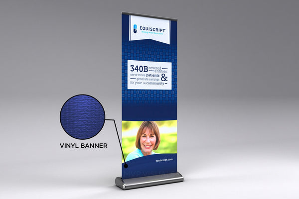MVP Visuals Vinyl Plus Roll Up Banner