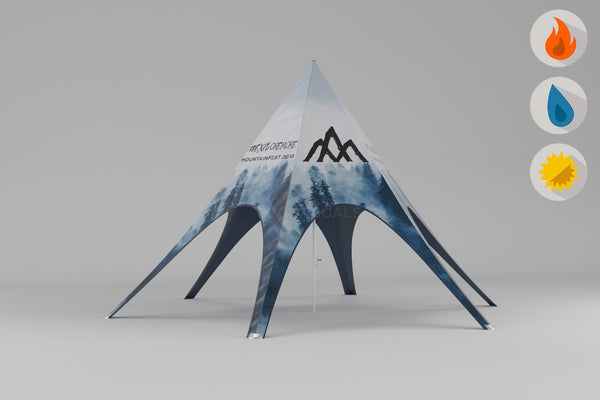Custom Pop Up Tent for Summit