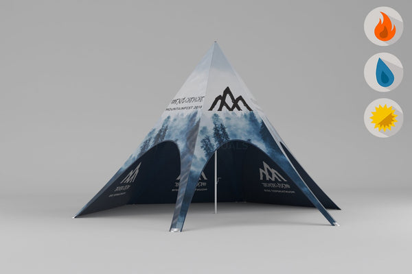 MVP Visuals Summit Custom Tent