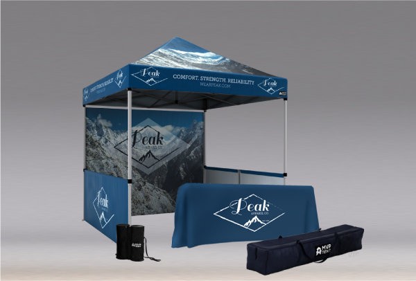 MVP Visuals Custom Tents All Star Bundle for Events