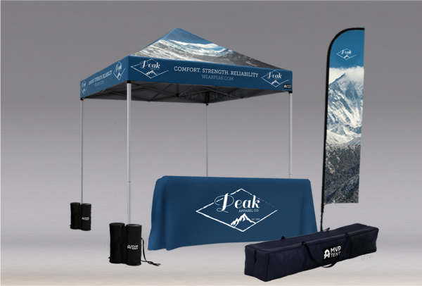 MVP Visuals Custom Tents Intro Bundle