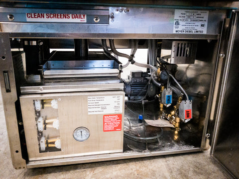 Champion Moyer Diebel Rotary Glasswasher