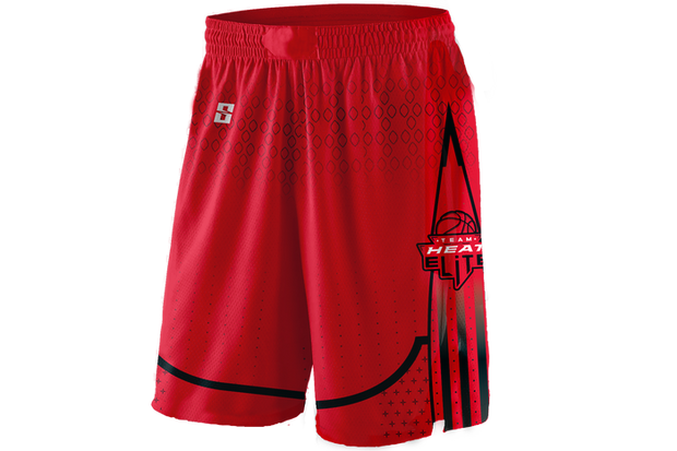 Team Heat Elite Game Day Reverse Short