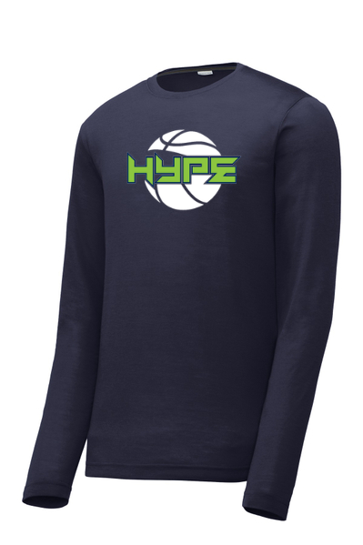 Edmond Hype Long Sleeve Performance Tee