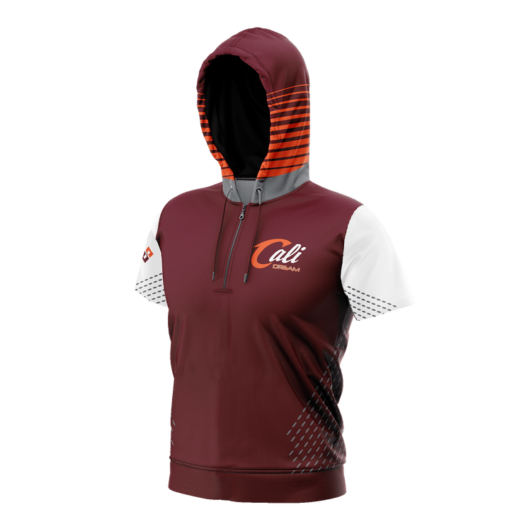 Cali Dream Short Sleeve Hooded Shooting Shirt
