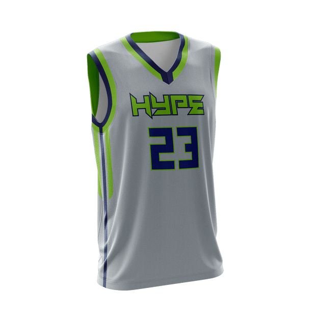 Edmond Hype Basketball Game Day Reverse Jersey