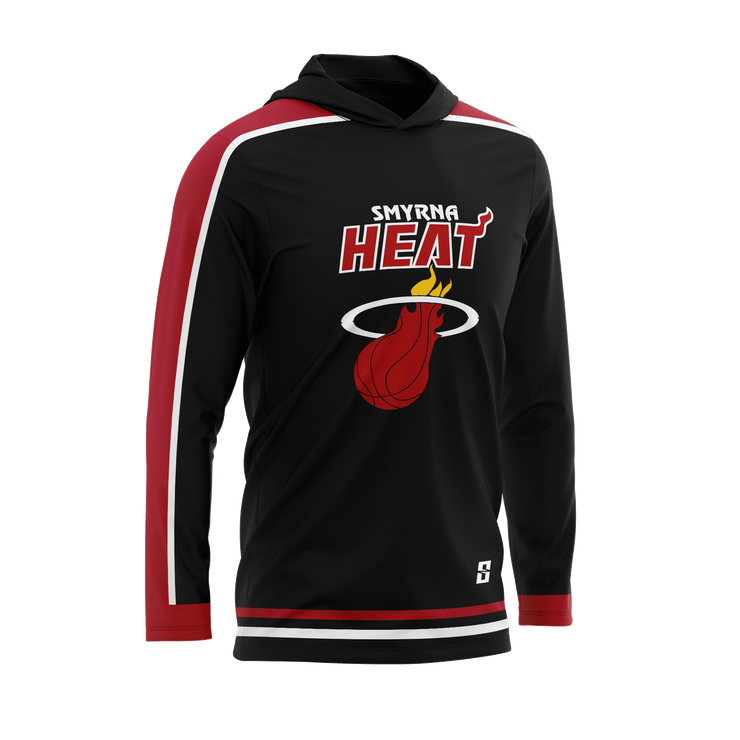 Smyrna Heat Long Sleeve Hooded Shooting Shirt