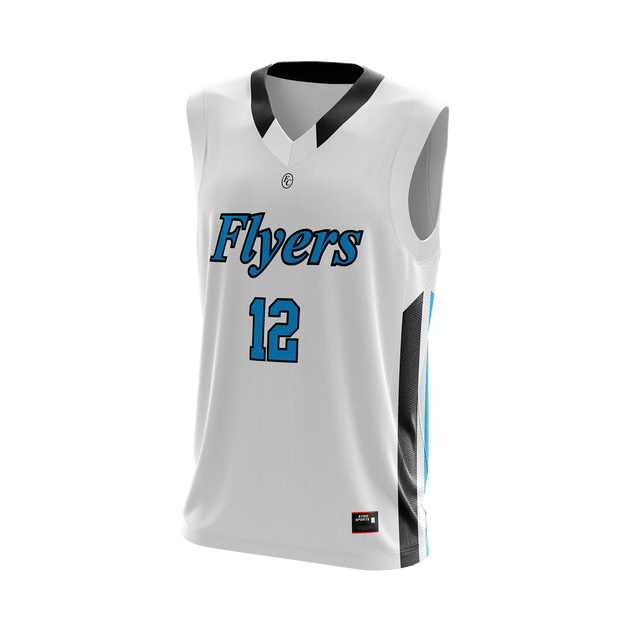 Foster City Flyers Home Basketball Jersey