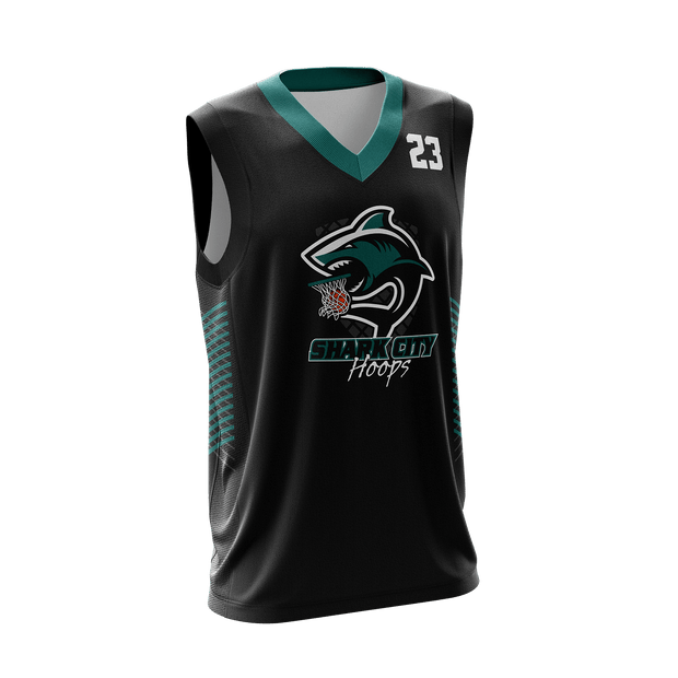 Shark City Hoops Game Day Away Jersey