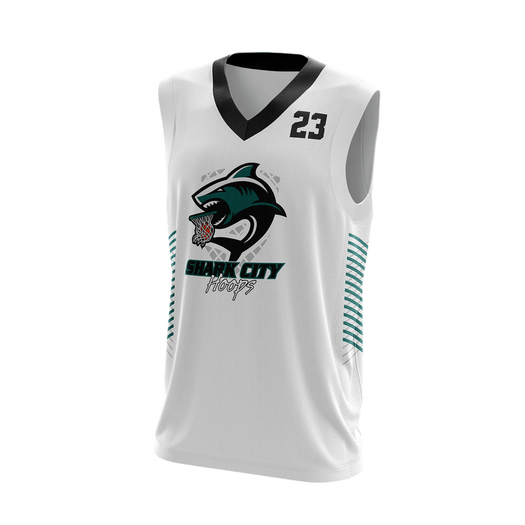Shark City Hoops Game Day Home Jersey