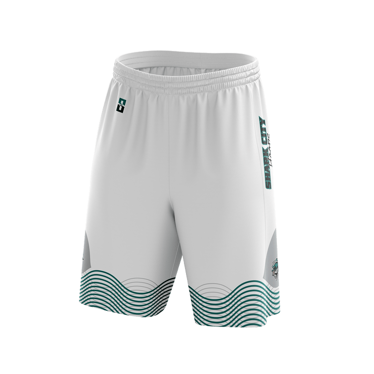 Shark City Hoops Game Day Home Short
