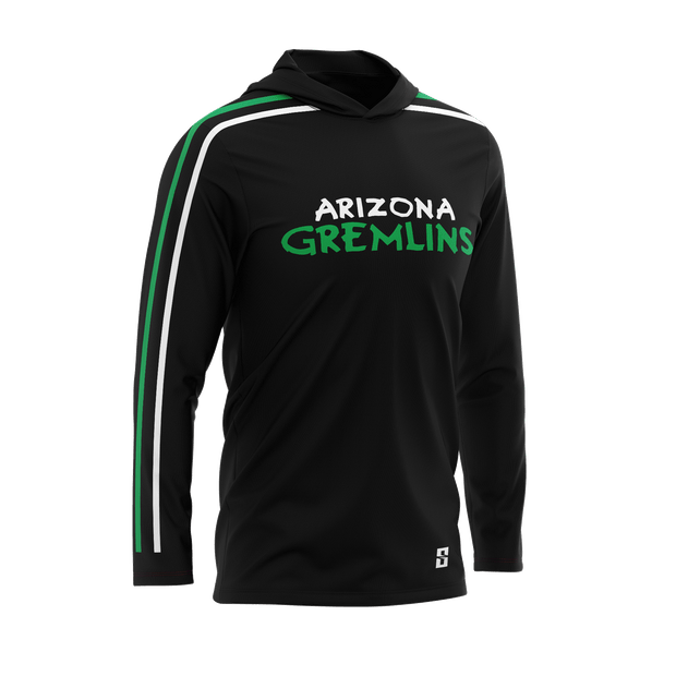 Image of the Arizona Gremlins Long-Sleeve Shooting Shirt from Str8 Sports.