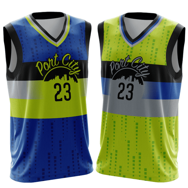 Port City Team Game Day Reverse Jersey