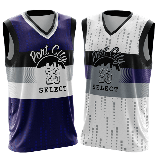 Port City Purple Game Day Reverse Jersey