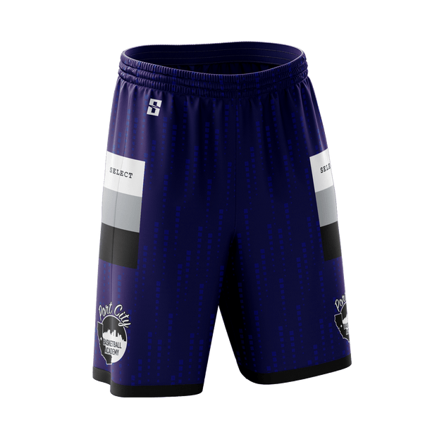 Port City Purple Game Day Reverse Short