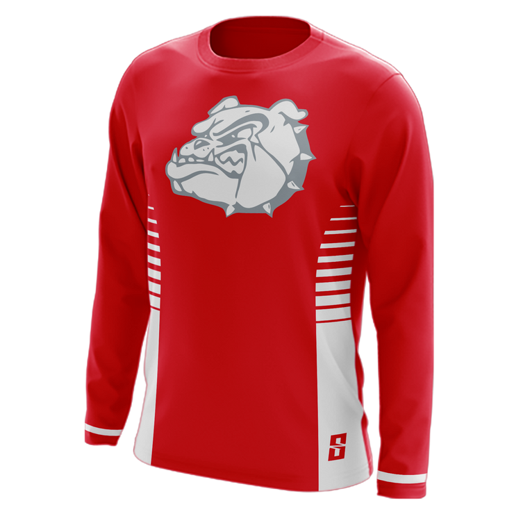 Baluster Long Sleeve Shooting Shirt