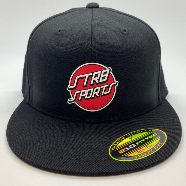 STR8 SPORTS, Inc. Flexfit 210 Flat Bill Cap