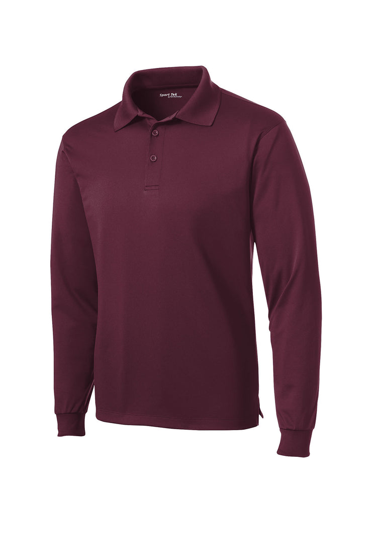 Sport-Tek Long Sleeve Micropique Sport-Wick Polo