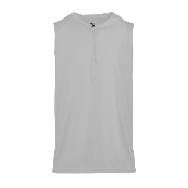 Badger-Core Sleeveless Adult Hood Tee