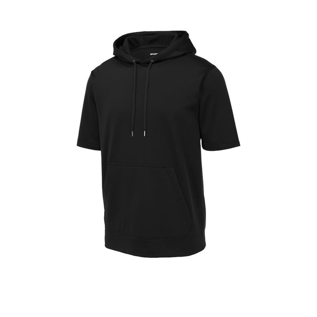 Sport-Tek Sport-Wick Fleece Short Sleeve Hooded Pullover